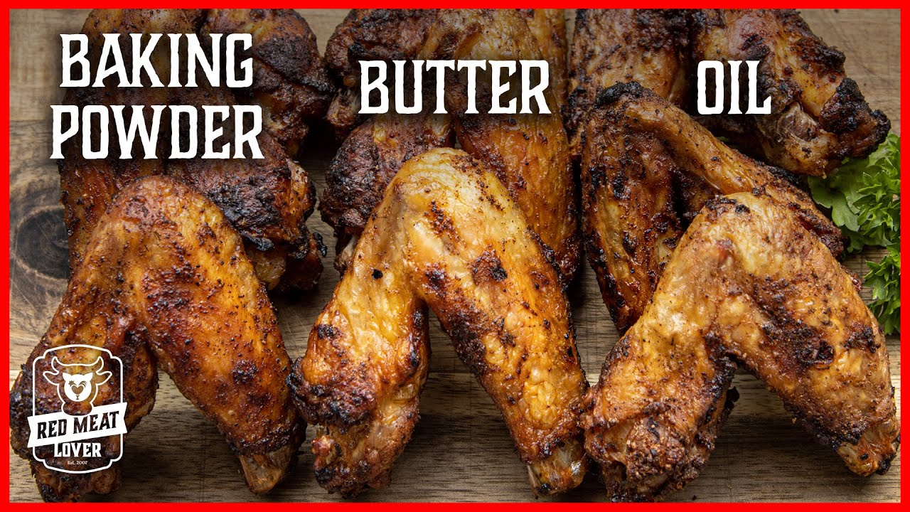 Grilled Chicken Wing Experiment - What Creates the Crispiest Wings?