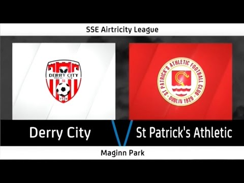HIGHLIGHTS: Derry City 2-2 St. Patrick's Athletic