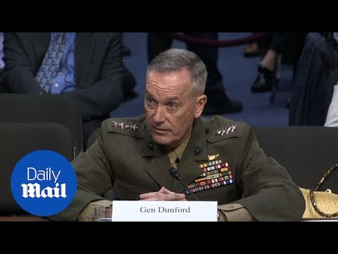 Gen. Dunford: Russia is top U.S. national security threat - Daily Mail