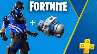FORTNITE BATTLE ROYALE NEW PS4 EXCLUSIVE SKIN Carbon Commander!!!!