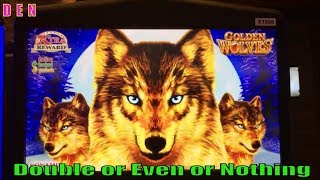 ★$LOT $ERIES ! D☆E☆N (43)★Double or Even or Nothing★High Voltage/Choy Coin Doa/Golden Wolves Slot ☆彡