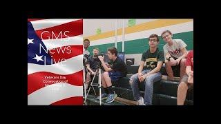 GMS News Live Event: Veterans Day Convocation(Full Res) for November 9, 2018