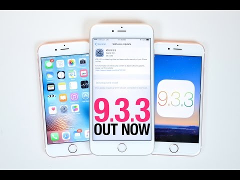 iOS 9.3.3 Released - Everything You Need To Know!