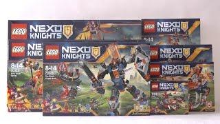 NOWOŚCI CZERWIEC 2016 LEGO NEXO KNIGHTS