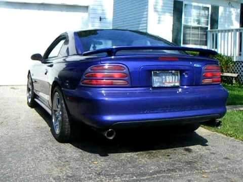 95 Mustang Gt With Slp Loudmouth 1 Catback Idle Light Rev