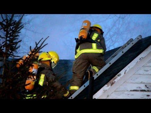 C-K Fire - H&H POV Cam - 10320 Shepherds Line 2nd Alarm, Dresden