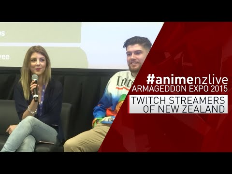 Armageddon Expo 2015: AUCKLAND - Saturday : Twitch Streamers of NZ [#animenzlive]