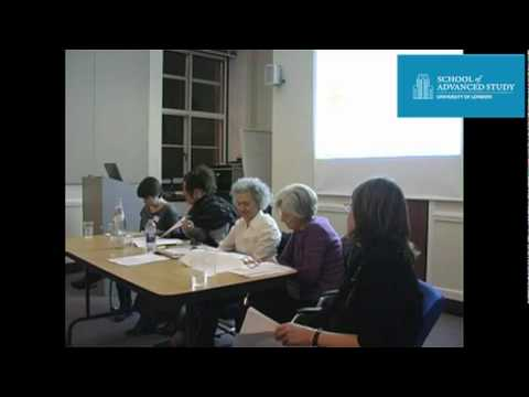 Conference in Memory of Fabrizia Ramondino: John Coffin Trust Fund Reading 1