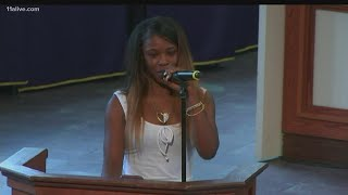 Rayshard Brooks Funeral | Friend delivers remarks