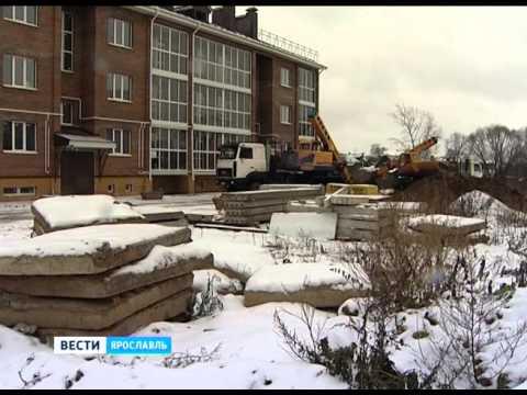 В Заволжском районе Ярославля вышел из строя трубопровод