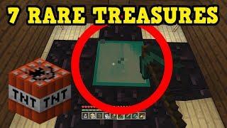 Minecraft Xbox / PE - 7 RARE TREASURES In Woodland Mansions