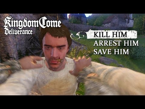 All Ways to Kill/Arrest/Save Pious (ALL CHOICES) - Kingdom Come: Deliverance (Monastery Quest)