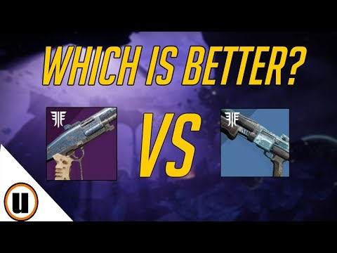 Mindbender's Ambition VS Botheration MK.28 | Best Shotty Review Comparison | Destiny 2 Forsaken