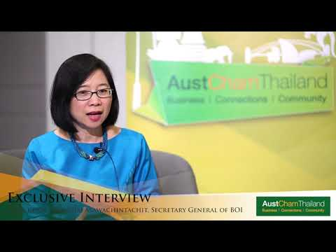 Exclusive Interview with Khun Duangjai Asawachintachit, Secretary General, Board of Investment (BOI)