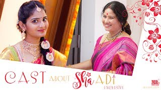 Cast about 'Shaadi' Short Film | Shaadi Exclusive | MR. Productions