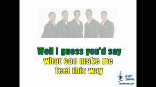 The Temptations - My Girl (Karaoke Instrumental) w/ Lyrics