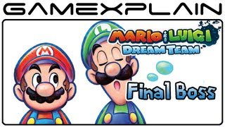 Mario & Luigi: Dream Team - Final Boss Battle & Ending (Spoilers!)