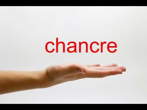 How to Pronounce chancre - American English