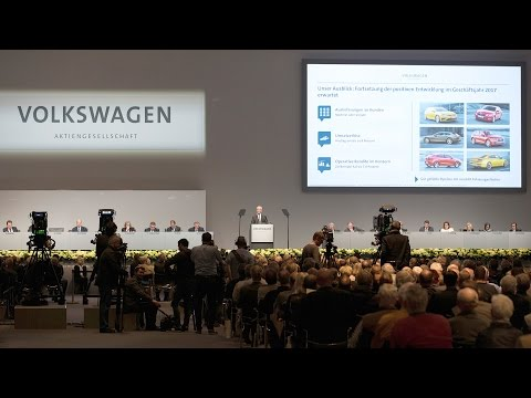 Annual General Meeting 2017 of Volkswagen AG