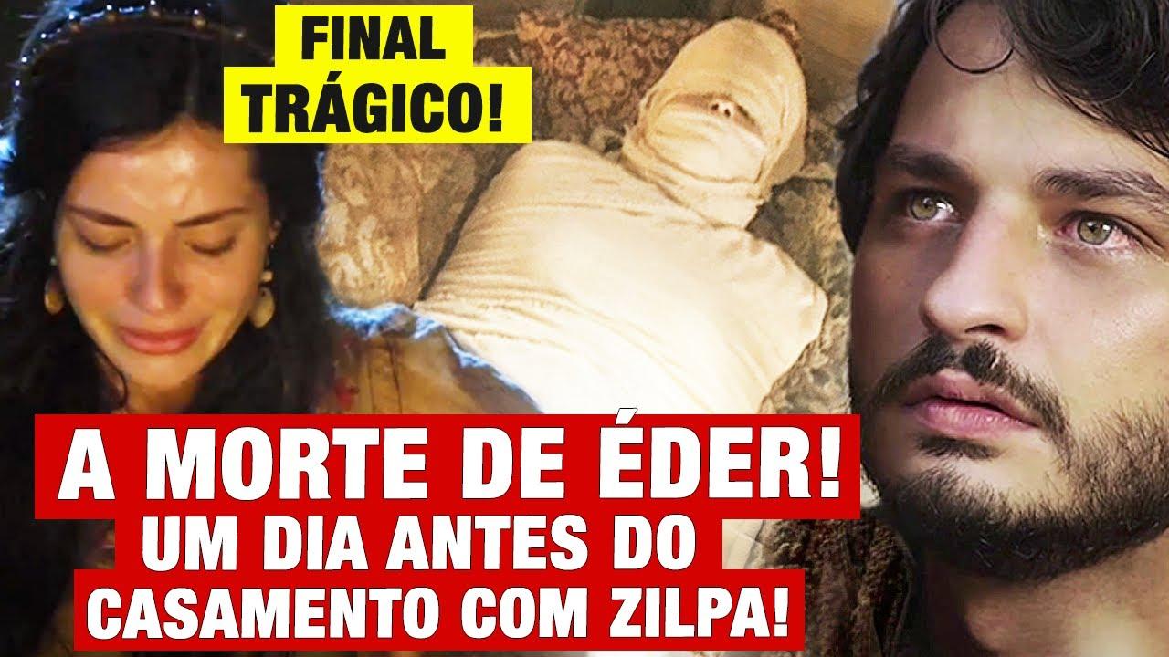 GÊNESIS - A MORTE DE ÉDER! FINAL TRÁGICO UM DIA ANTES DO CASAMENTO COM ZILPA!