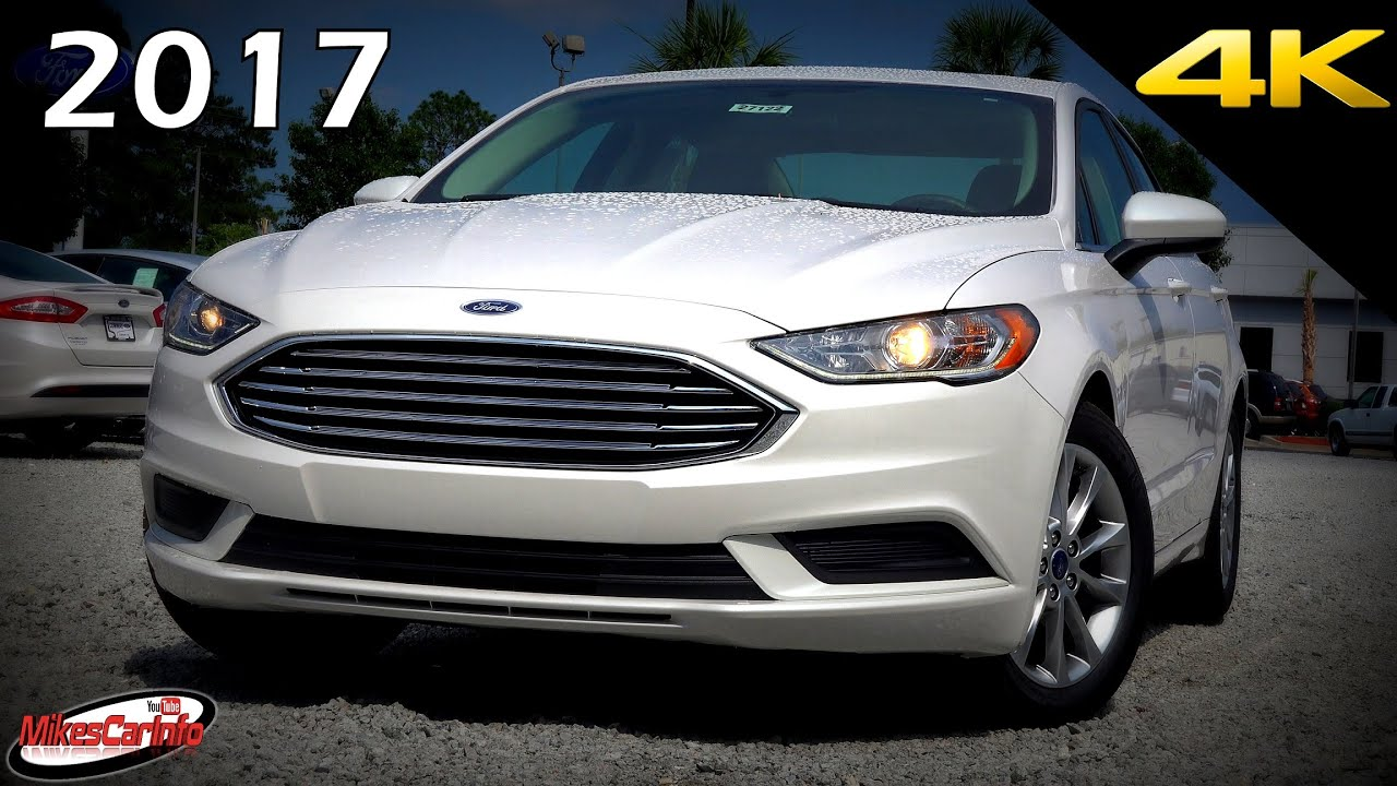 2017 ford fusion se ultimate in depth look in 4k