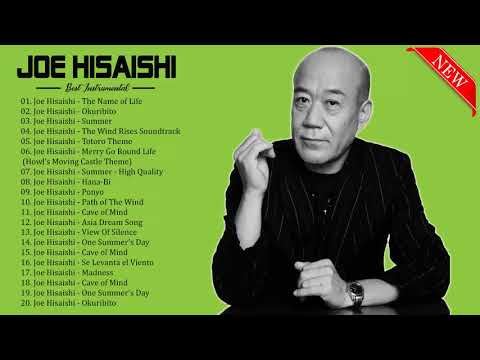Joe Hisaishi 久石譲 29 Song Golden Collection  - Joe Hisaishi Best Songs