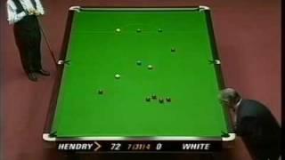 Stephen Hendry 147 World Championship 1995 Crucible Sheffield Closed Captions HQ