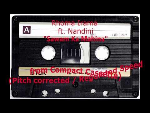 Sawam Ka Mahina - Rhoma Irama Ft. Nandini (dari Kaset / Pitch Corrected)