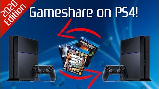 How to GAMESHARE on PS4! (EASY) (2020) | SCG