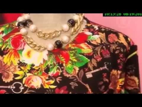 Яркое платье в пол своими руками  Ольга Никишичева