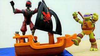 Черепашки Ниндзя и Огненный гонщик! Видео игры для мальчиков.