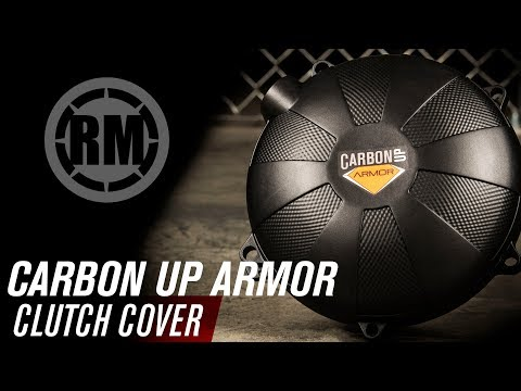 Carbon Up Armor Dirt Bike Clutch Cover