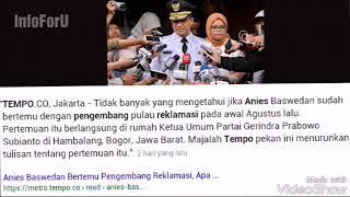 Video [Akhirnya ngaku] Anies bertemu pengembang di rumah Prabowo download MP3, 3GP, MP4, WEBM, AVI, FLV Februari 2018