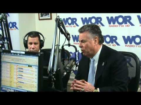 Behind the Scenes with Rep. King & David Paterson at WOR Radio