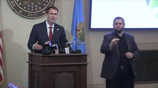 Gov. Stitt outlines phase 1 of reopening Oklahoma