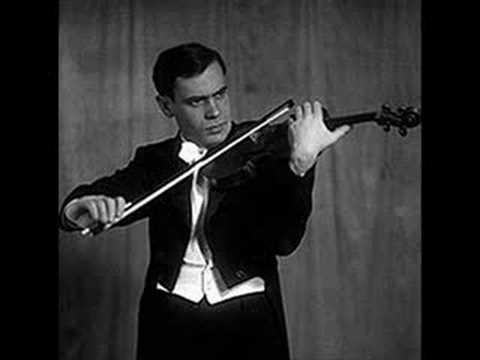 Kogan Plays Paganini's l Palpiti, Op. 13 - Part 1