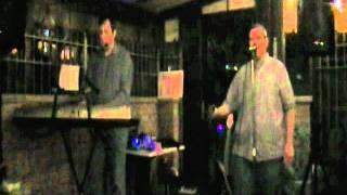 "Jj And Bri Performing ""escape (the Pina Colada Song)"" At Harold's Inn On September 17, 2011."