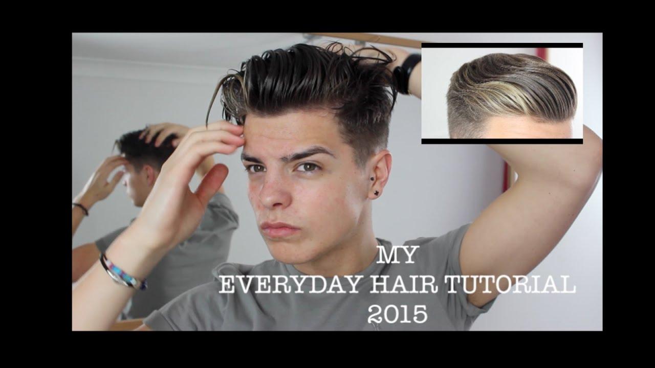 Mens hair tutorial 2015 the perfect quiff youtube urmus Gallery