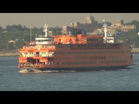 Staten Island Ferry ride in New York City