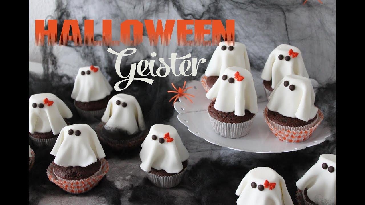 Halloween kuchen geister