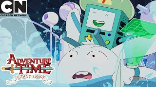 Adventure Time: Distant Lands | BMO and Y5's Great Escape | Cartoon Network UK