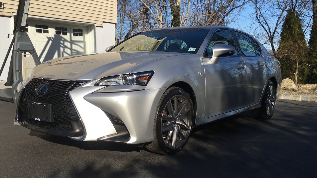 2016 Lexus GS350 F-Sport: Review - YouTube