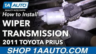 How to Replace Windshield Wiper Transmission 10-15 Toyota Prius