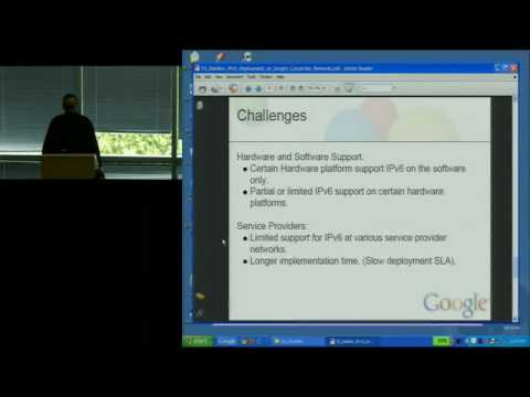 Google IPv6 Implementors Conference 2010: Content Networks and Enterprise Networks