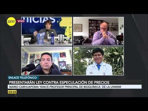 """Medicinas En El Perú: """"La Industria Farmacéutica Peruana Está En Una Situación Crítica"""""""