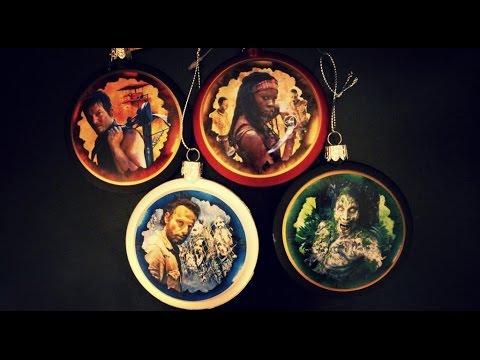 The Walking Dead Christmas! Daryl Dixon, Michonne, Rick Grimes ...