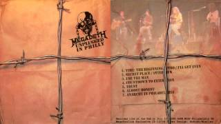Megadeth - Unplugged In Philly 1998 [Full Bootleg Album]