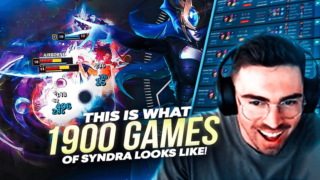 What 1900 GAMES of SYNDRA does to you | Midbeast