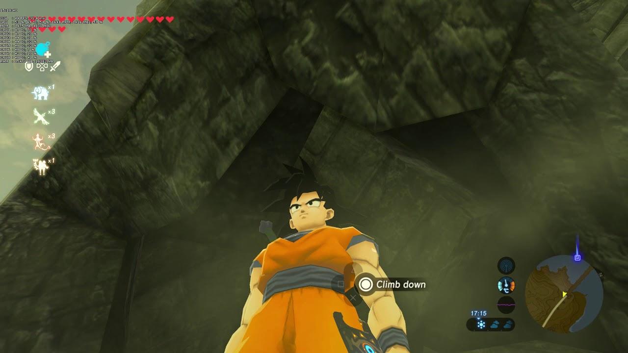 Zelda BOTW mods | Link, steve, goku, woody, CJ, jon snow, kratos without  Cel-Shaders