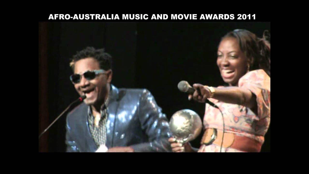 DESMOND ELLIOT, JOHN DUMELO @ AFRO AUSTRALIA MUSIC & MOVIE AWARDS